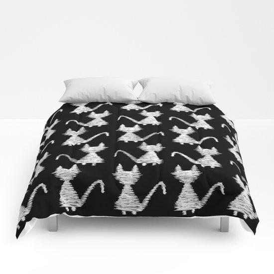 Cat pattern Comforters