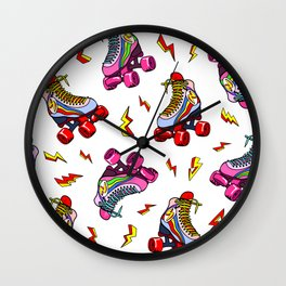 Roller Craze I Wall Clock