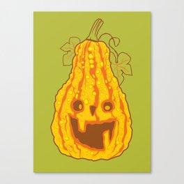 Halloween pumpkin Canvas Print
