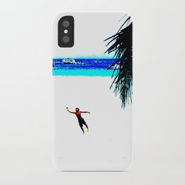 Borocay Beach Dive - Happy Place iPhone Case