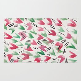 5 | Watercolor Patterns Abstract 181214 Rug