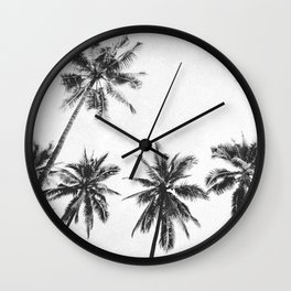 PALM TREES VI Wall Clock