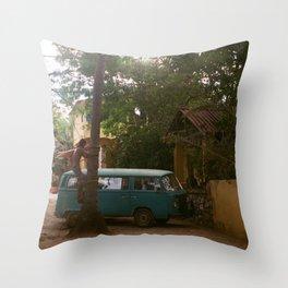 TRAVEL DAYS Throw Pillow