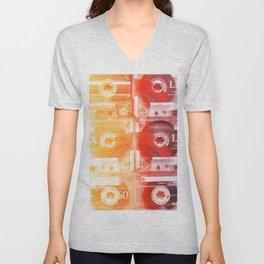 Cassette in group#exposure#film#effect Unisex V-Neck