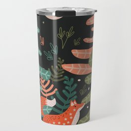 Evergreen Fox Tale Travel Mug