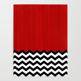 Twin Peaks - The Red Room Poster