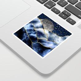 Full moon II Sticker