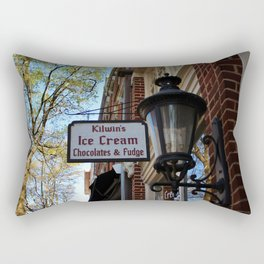 Ice Cream And Fudge Shop Rectangular Pillow