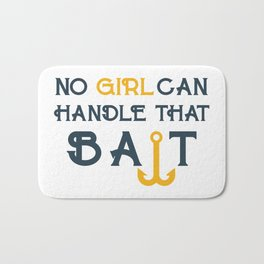 Single Men Girl Bait Bath Mat