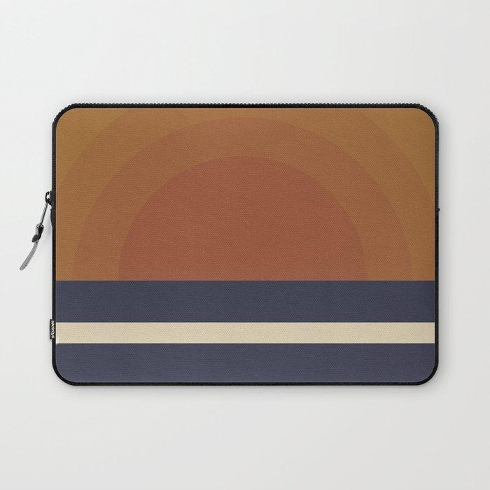 Retro Sunset Laptop Sleeve