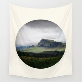 Cloudy Cliff Wall Tapestry