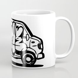 Deme 5 Graffiti Van Coffee Mug