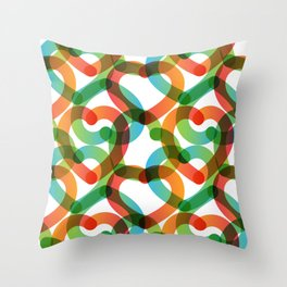 Digital Sweet Love #1 Throw Pillow