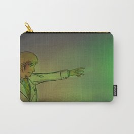 Believe in the Green Light Carry-All Pouch