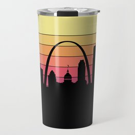 Saint Louis Skyline Travel Mug