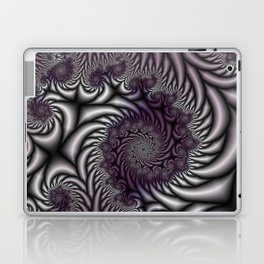 Purple and Gray Laptop & iPad Skin