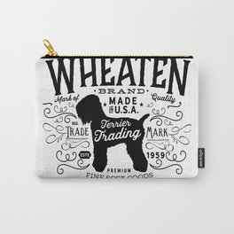 Wheaten Trading Co. dog art Carry-All Pouch