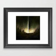 Search For Fire Framed Art Print