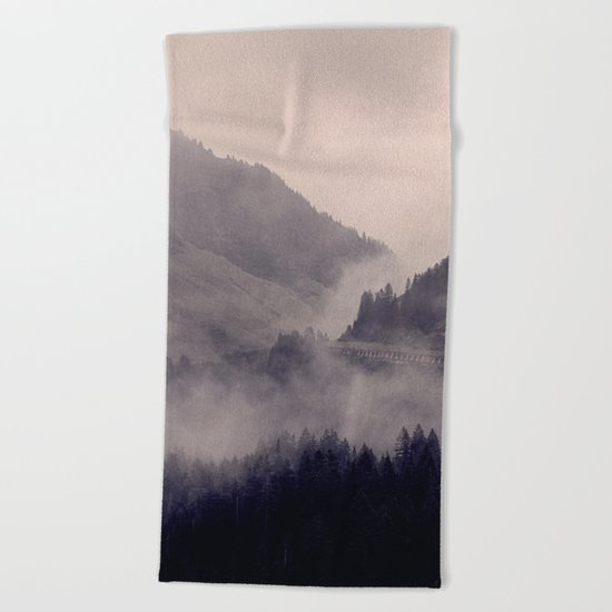 HIDDEN HILLS Beach Towel