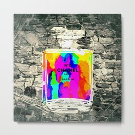 No 5 Stone Wall Metal Print