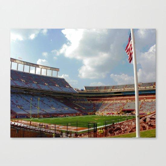 University of Texas Football Canvas Print