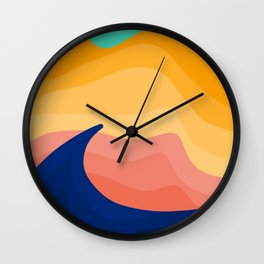 Stockton Dunes Wall Clock