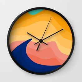 Stockton Dunes Wall Clock