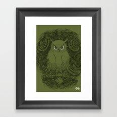Owline Framed Art Print