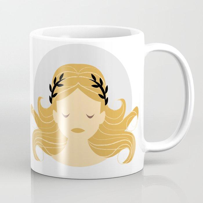 Virgo Zodiac Sign Symbol: The Maiden Coffee Mug