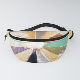 Abstract Color Wheel Painting Fanny Pack