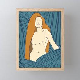 Leaf Maiden Framed Mini Art Print
