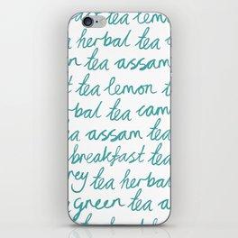 I Love Tea iPhone Skin