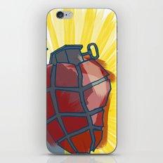 My Heart goes boom iPhone & iPod Skin