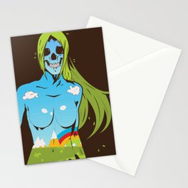 Nature Born Killa Stationery Cards