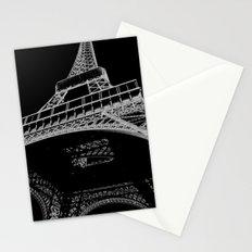 Digital Eiffel Stationery Cards
