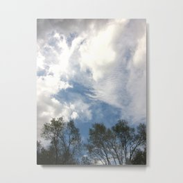 Carnivals Of Clouds Metal Print