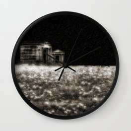 Lit By The Rich Skies Wall Clock
