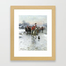 CHERISHEDBY ALFRED VON WIERUSZ KOWALSKI. Framed Art Print