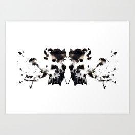 Rorschach No.1 Art Print