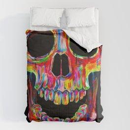Chromatic Skull Comforters