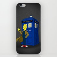 lemongrab iPhone & iPod Skins featuring Doctor Lemongrab  by MUSENYO