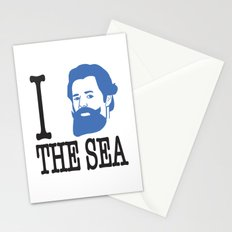 I __ The Sea Stationery Cards