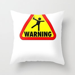 Funny Cruise Warning I bought the Drink Package Vacation Throw Pillow