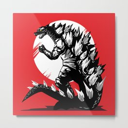 The end of the dinosaurs Metal Print