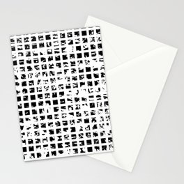 Controlled Randomness Stationery Cards