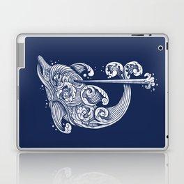 The Dolphin Wave Laptop & iPad Skin
