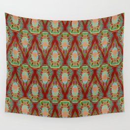 Abstract feathers 1b Wall Tapestry