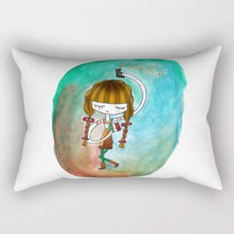 September 15 Mexican girl by Ashley Nada Rectangular Pillow