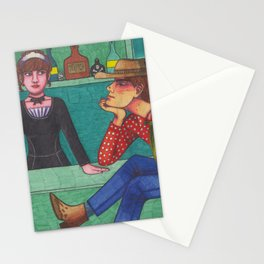 The Bucket of Blood Stationery Cards