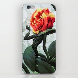 Alice in Wonderland Rose iPhone Skin